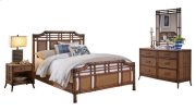 Palm Island 6 PC Complete Queen Bedroom Set Product Image
