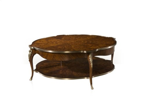 Caryatid Circular Cocktail Table