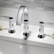 Berwick Widespread Faucet  Lever Handles  American Standard - Polished Chrome