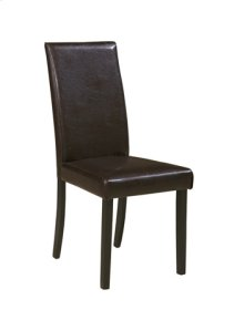 Dining Upholstered Side Chair-Kimonte Brown