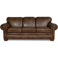 Monroe Leather Sofa 1435LS Product Image