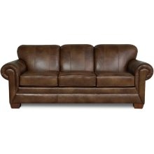 Monroe Leather Sofa 1435LS