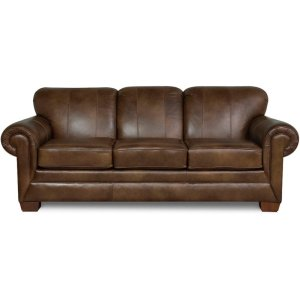 England FurnitureMonroe Leather Sofa 1435LS