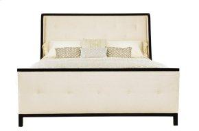 King-Sized Jet Set Upholstered Bed in Jet Set Caviar (356)