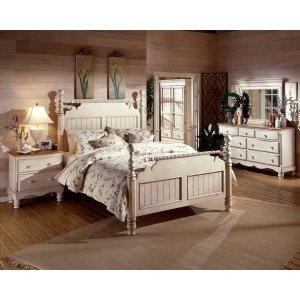 Hillsdale FurnitureWilshire 4pc Queen Post Bedroom Suite