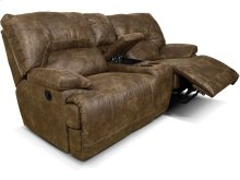 EZ Motion Double Reclining Loveseat Console EZ13685