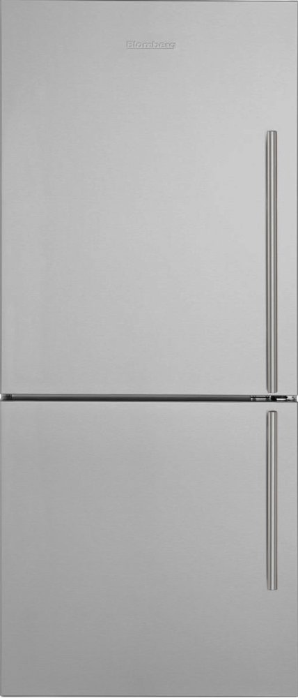 "30"" Bottom Freezer/Fridge 18 cu ft, wrapped stainless doors, stainless handles, left hinge  STAINLESS STEEL"