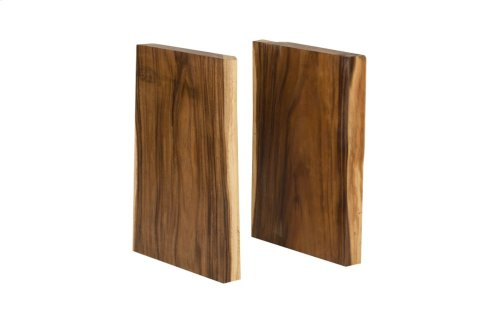 Chamcha Wood Dining Table Legs, Natural, Pair, Dining Table Leg Option