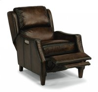 Ethan Leather Power High-Leg Recliner with Power Headrest Product Image
