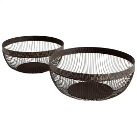 Meshing Around Baskets