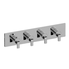 Immersion M-Series Valve Horizontal Trim with Four Handles
