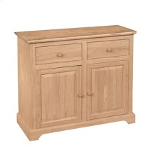 B-2 2 Door Buffet also Available with 2 Door Hutch (sku H-2B)