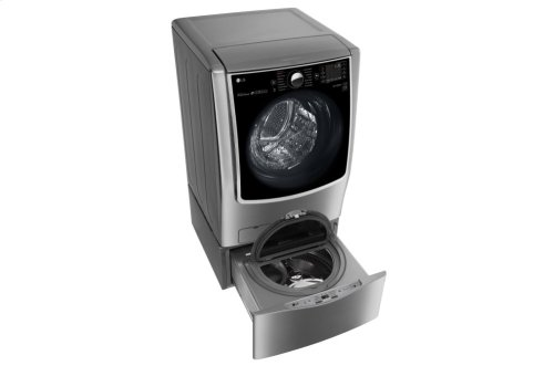 6.2 Total Capacity LG TWINWash System with LG SideKick