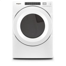 Whirlpool® 7.4 cu.ft Front Load Gas Dryer with Intiutitive Touch Controls, Advanced Moisture Sensing - White