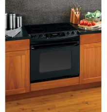 """GE® 30"""" Drop-In Electric Range with Self-Cleaning Oven"""
