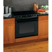"GE® 30"" Drop-In Electric Range with Self-Cleaning Oven"