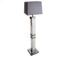 Montreal Slendr Tbl Flr Lamp w/Crstl Accnt & Rect Shade, Violet Product Image