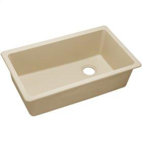 "Elkay Quartz Classic 33"" x 18-3/4"" x 9-1/2"", Single Bowl Undermount Sink, Sand"