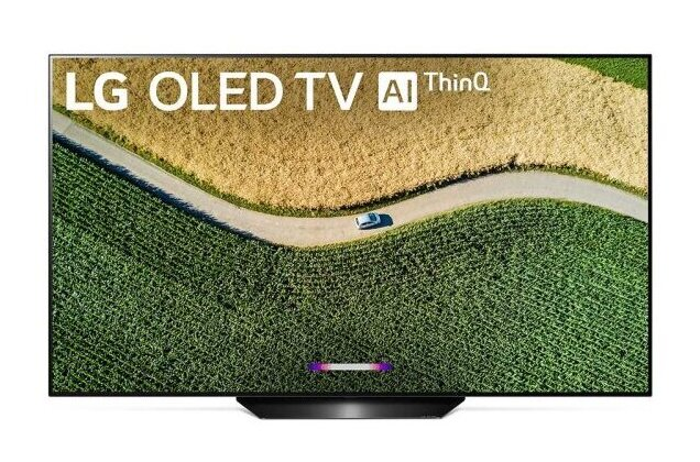 LG B9 55 inch Class 4K Smart OLED TV w/AI ThinQ(R) (54.6