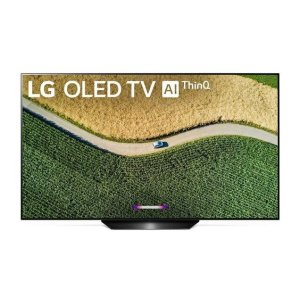 LgLG B9 55 inch Class 4K Smart OLED TV w/AI ThinQ® (54.6'' Diag)