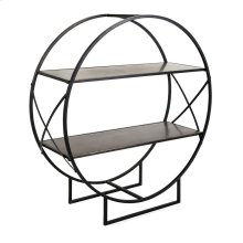Zayden Round Metal Shelf