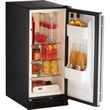"""Stainless Right-hand 1000 Series / 15"""" Refrigerator Model"""