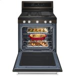 Kitchenaid 30-Inch 5-Burner Gas Convection Range - Black Stainless Steel With Printshield™ Finish