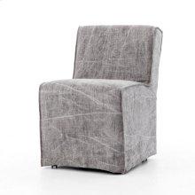 Seville Chair-stonewash Heavy Jute Charc