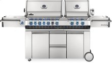 Prestige PRO 825 RSBI Power Side Burner, Infrared Rear & Bottom Burners Stainless Steel , Natural Gas