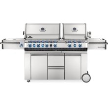 Prestige PRO 825 RSBI Power Side Burner, Infrared Rear & Bottom Burners , Stainless Steel , Natural Gas