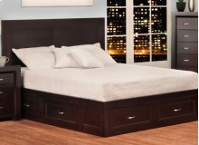 Contempo 6 Drawer Queen Condo Bed (2 on end/2 on each side)