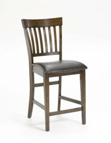 Arbor Hill Non-swivel Counter Stool With Bentwood Seat and Mission Back - Set of 2 In 1 Ctn