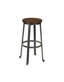 "Tall Stool-30""-Challiman Rustic Brown"
