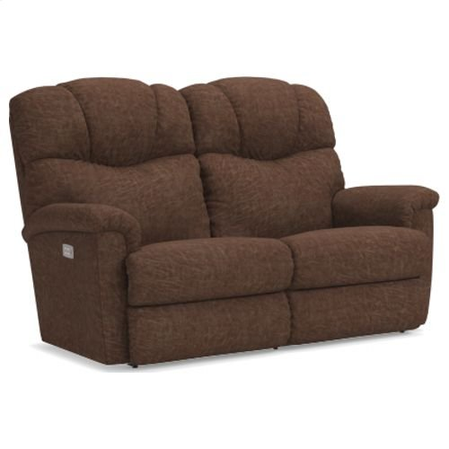 Lancer Power Reclining Loveseat w/ Headrest