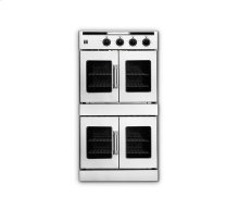 """30"""" Legacy Hybrid French Door Double Deck Wall Oven - Gas On Top / Electric On Bottom"""
