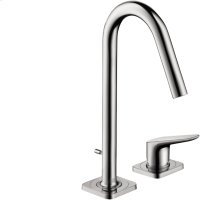 Chrome Citterio M Single-Handle 2-Hole Faucet