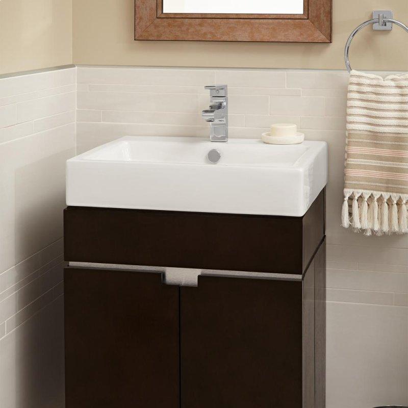 Studio Above Counter Bathroom Sink White
