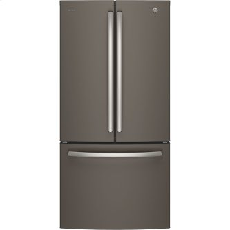 GE Profile 24.5 Cu. Ft. Energy Star French Door Refrigerator with Factory Installed Icemaker Slate - PNE25NMLKES