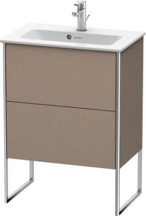Vanity Unit Floorstanding Compact, Linen (decor)
