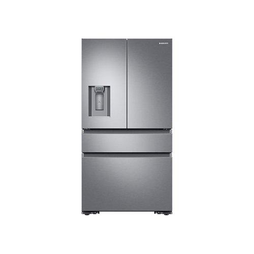 4-Door French Door Counter Depth Refrigerator in Stainless Steel