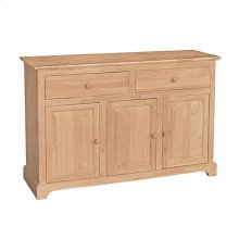 B-3 3 Door Buffet also Available with 3 Door Hutch (sku H-3B)