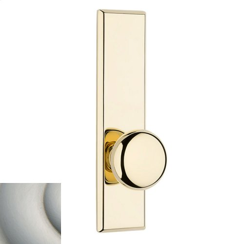 Satin Nickel with Lifetime Finish Traditional K011 Knob Screen Door