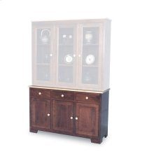 "Shaker Hutch Base, Large, Shaker Hutch Base, 61 1/2"", 22"" Base"
