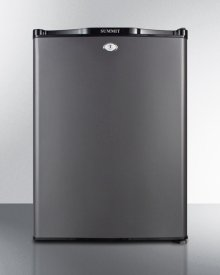 Silent Absorption Minibar for Hotel Use, In Gray Finish With Front Lock