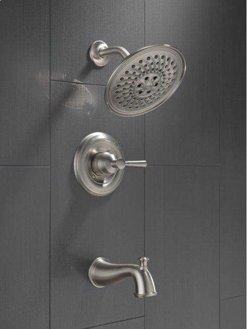 SpotShield Brushed Nickel Monitor ® 14 Series Tub & Shower Trim
