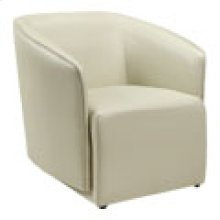 CH-126 Astro Taupe Leather Recliner