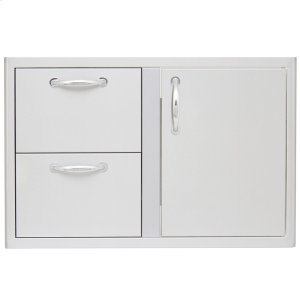 Blaze GrillsBlaze 32 Inch Access Door & Double Drawer Combo