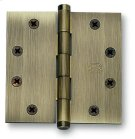 Plain Bearing, Full Mortise Hinge - Solid Extruded Brass in MB (MaxBrass® PVD Plated) Product Image