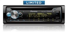 """CD Receiver with enhanced Audio Functons, Pioneer Smart Sync App Compatibility, MIXTRAX®, Built-in Bluetooth®, and SiriusXM-Ready """""""