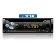 CD Receiver with enhanced Audio Functons, Pioneer Smart Sync App Compatibility, MIXTRAX®, Built-in Bluetooth®, and SiriusXM-Ready ""